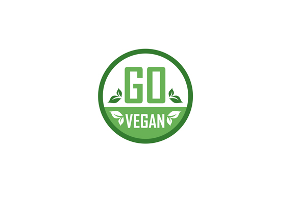 Download Free Go Vegan Stamp Symbol Graphic By Shawlin Creative Fabrica for Cricut Explore, Silhouette and other cutting machines.