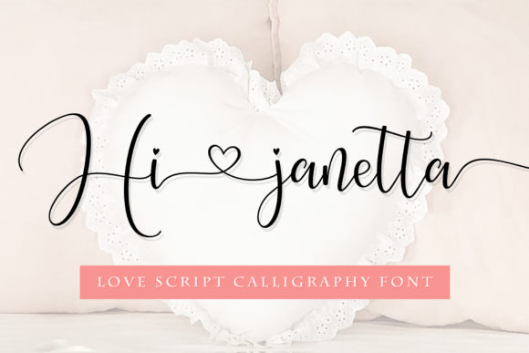 Print on Demand: Hi Janetta Script & Handwritten Font By Sulthan Studio