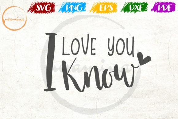 Download Free I Love You Graphic By Uramina Creative Fabrica for Cricut Explore, Silhouette and other cutting machines.