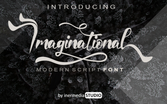 Print on Demand: Imaginational Script & Handwritten Font By Inermedia STUDIO