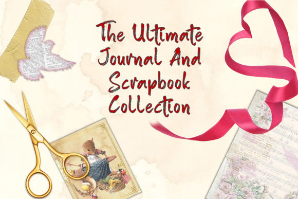 Print on Demand: Journal and Scrapbook Bundle - 70 Products  By The Paper Princess