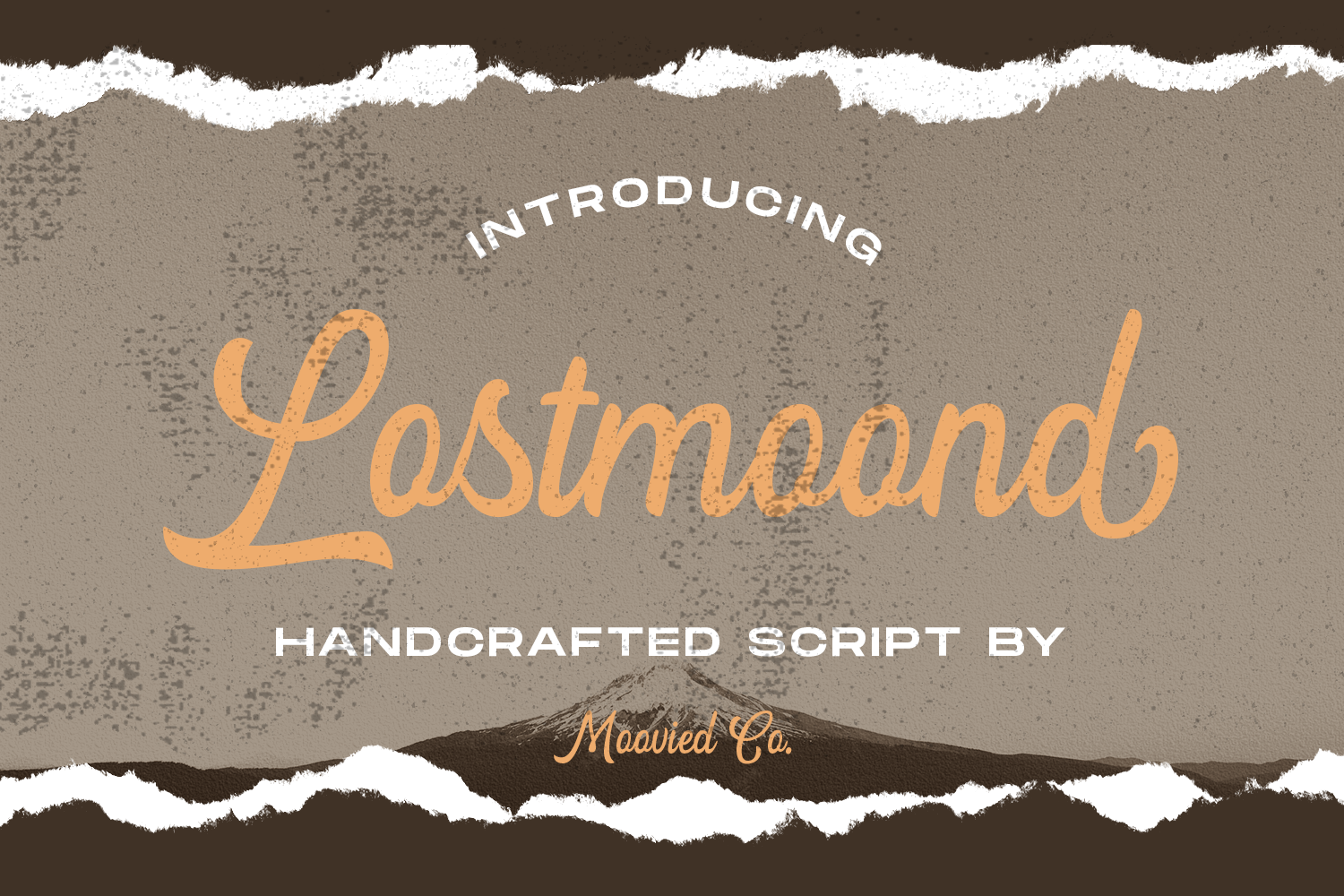 Download Free Lostmoond Font By Temp Here Creative Fabrica for Cricut Explore, Silhouette and other cutting machines.