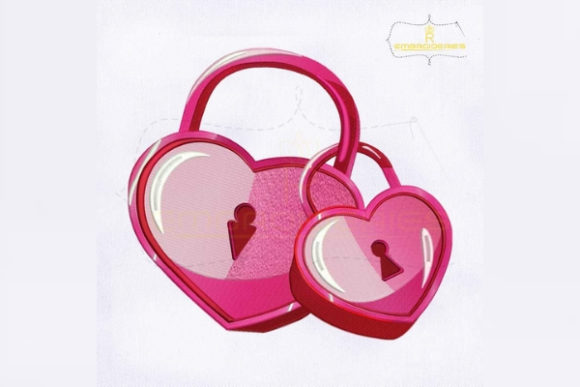 Download Free Lovely Heart Lock Creative Fabrica for Cricut Explore, Silhouette and other cutting machines.