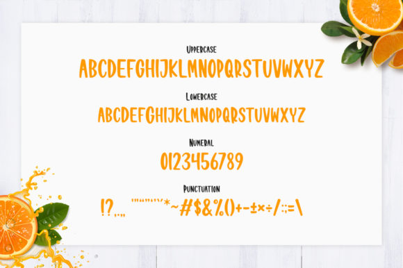 Download Free Orange Juice Font By Nirmala Creative Creative Fabrica for Cricut Explore, Silhouette and other cutting machines.