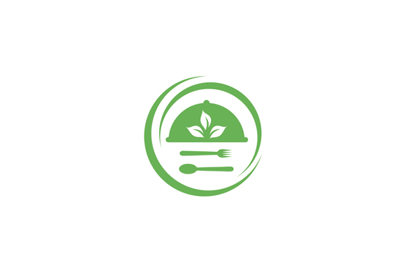 Download Free Organic Food Logo Graphic By Shawlin Creative Fabrica for Cricut Explore, Silhouette and other cutting machines.