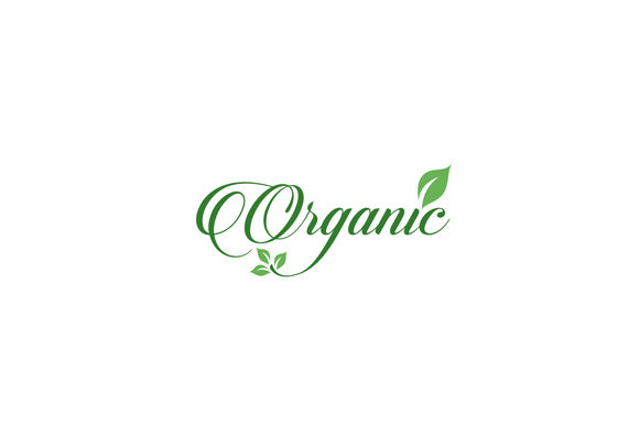 Download Free Organic Food Sign Calligraphy Graphic By Shawlin Creative Fabrica for Cricut Explore, Silhouette and other cutting machines.