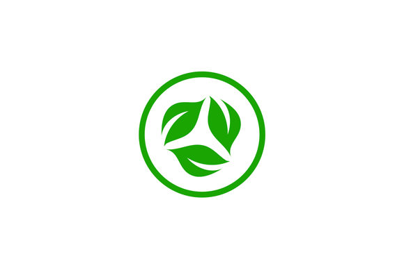 Download Free Organic Leaf Logo Vegan Graphic By Shawlin Creative Fabrica for Cricut Explore, Silhouette and other cutting machines.