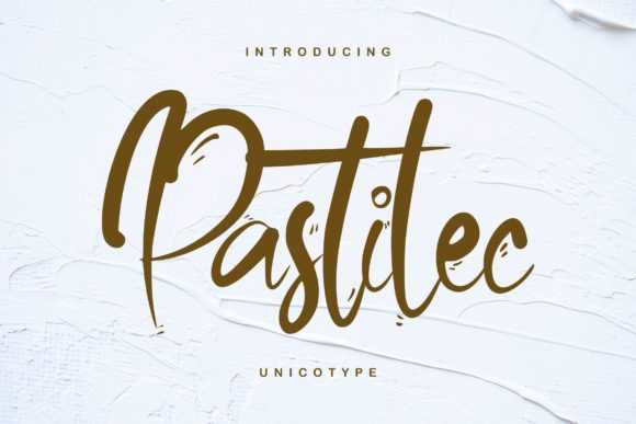 Print on Demand: Pastilec Script & Handwritten Font By Vunira