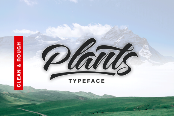 Print on Demand: Plants  Script & Handwritten Font By Artisans