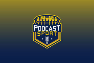 Download Free Podcast Sport Logo Design Graphic By Burhan Bn006 Creative Fabrica for Cricut Explore, Silhouette and other cutting machines.