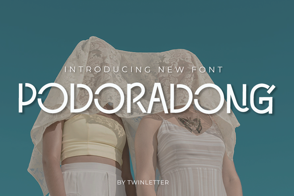Download Free Podoradong Font By Twinletter Creative Fabrica for Cricut Explore, Silhouette and other cutting machines.