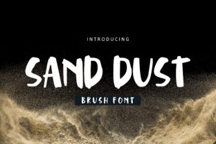 Download Free Sand Dust Font By Ardidesigns Creative Fabrica for Cricut Explore, Silhouette and other cutting machines.