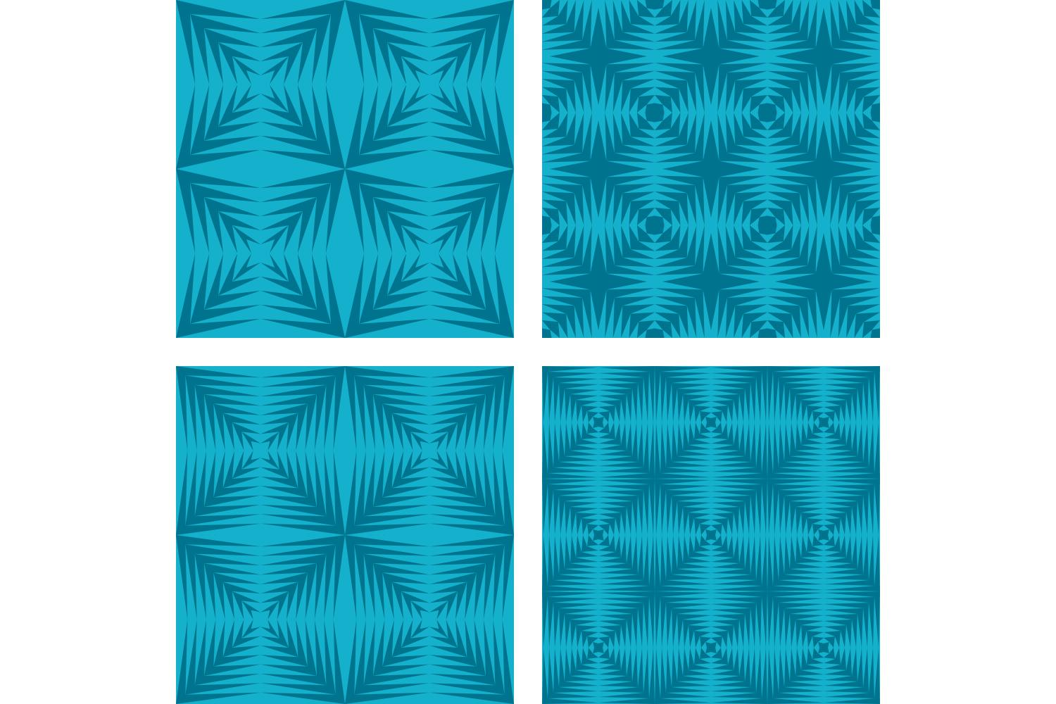 Download Free Seamless Geometric Pattern Set Graphic By Davidzydd Creative for Cricut Explore, Silhouette and other cutting machines.