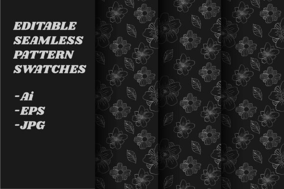Download Free Floral Seamless Pattern Graphic By Iorozuya Creative Fabrica SVG Cut Files
