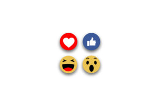 Social Media Face Reaction Graphic Icons By shawlin