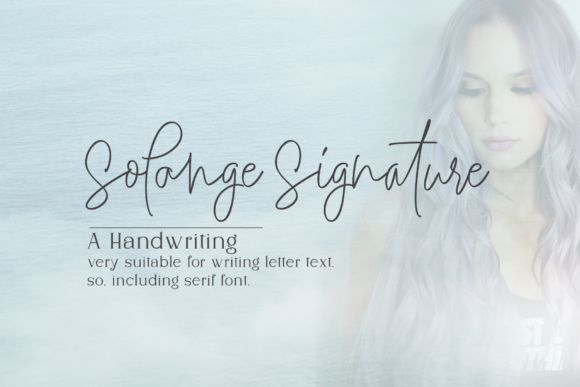 Print on Demand: Solange Script & Handwritten Font By Artisans