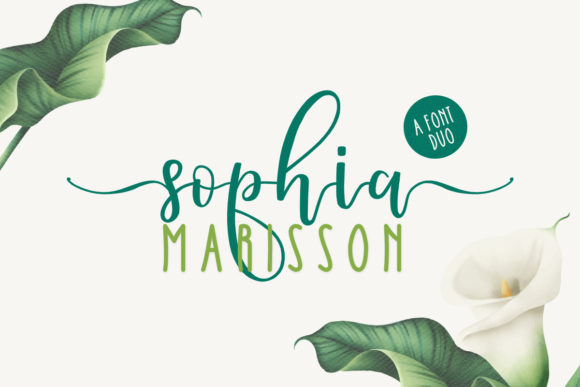 Print on Demand: Sophia Marisson Script & Handwritten Font By jimtypestudio