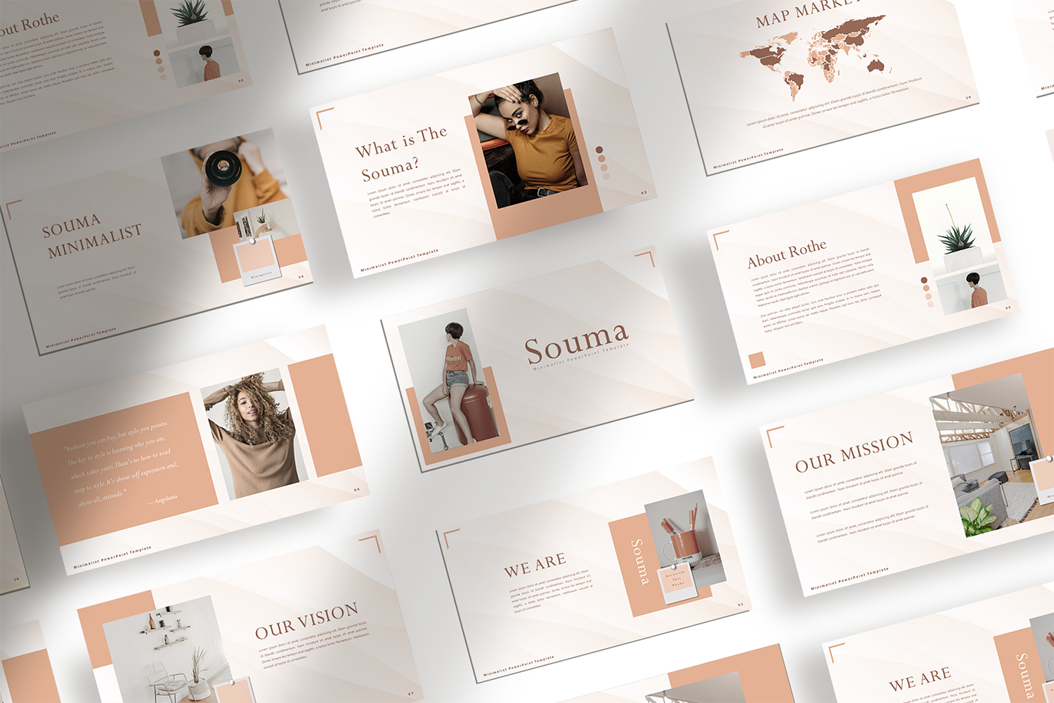 Download Free Souma Presentation Template Graphic By Ovoz Graphics for Cricut Explore, Silhouette and other cutting machines.