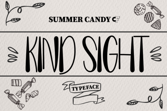 Print on Demand: Summer Candy Sans Serif Font By Petterco
