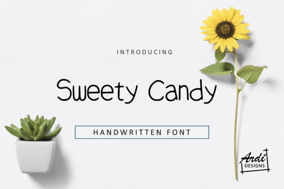 Print on Demand: Sweety Candy Sans Serif Font By ArdiDesigns