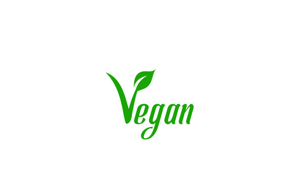Download Free Text Vegan With Symbol Graphic By Shawlin Creative Fabrica for Cricut Explore, Silhouette and other cutting machines.
