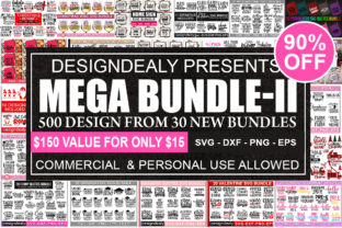 Print on Demand: The Mega Bundle Graphic Print Templates By Designdealy