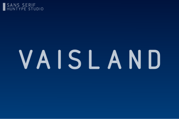 Download Free Vaisland Font By Huntype Creative Fabrica for Cricut Explore, Silhouette and other cutting machines.