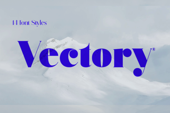 Print on Demand: Vectory Serif Font By Artisans