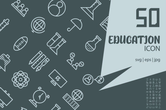 Download Free Education Graphic By Astuti Julia93 Gmail Com Creative Fabrica for Cricut Explore, Silhouette and other cutting machines.