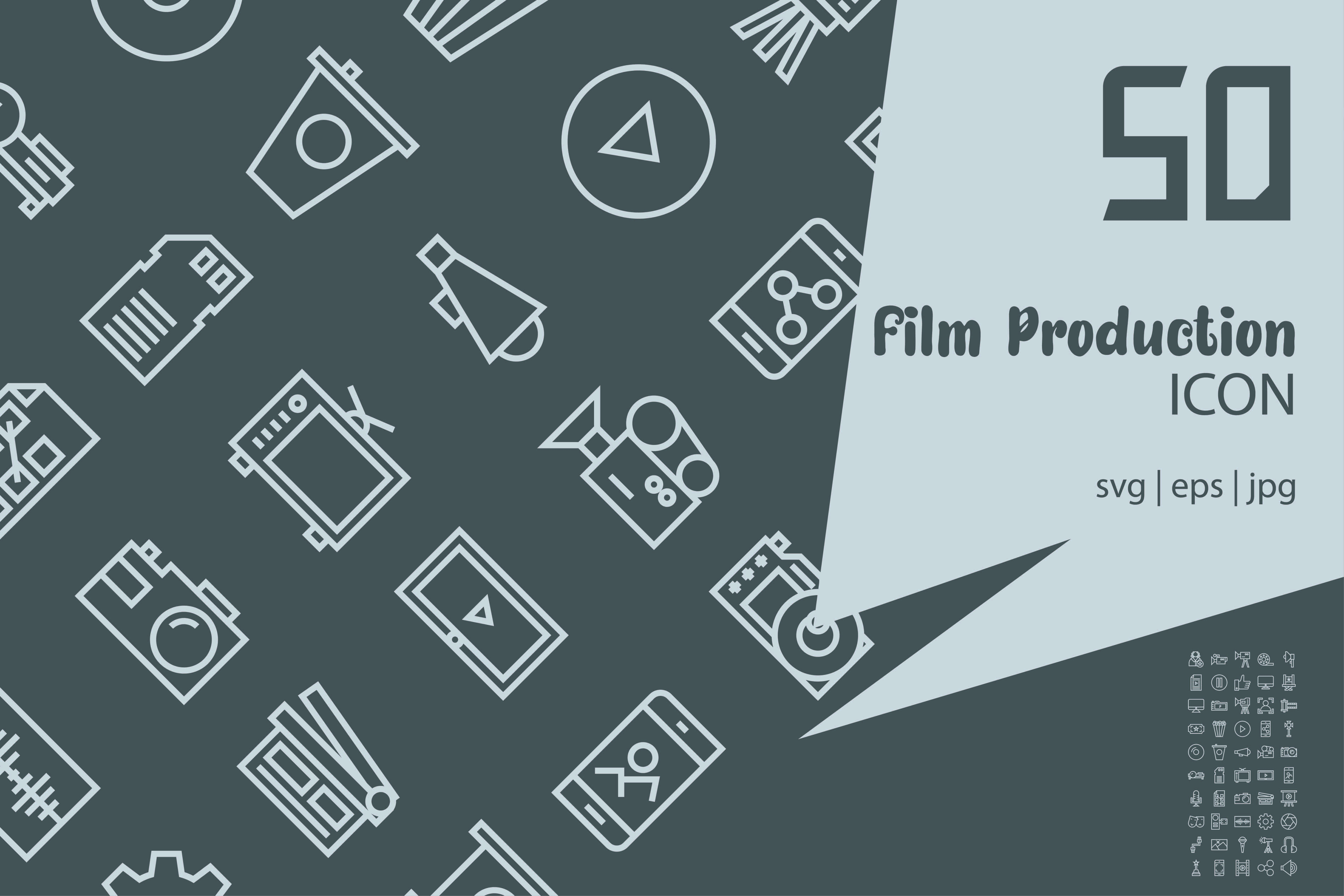 Download Free Film Production Graphic By Astuti Julia92 Creative Fabrica for Cricut Explore, Silhouette and other cutting machines.