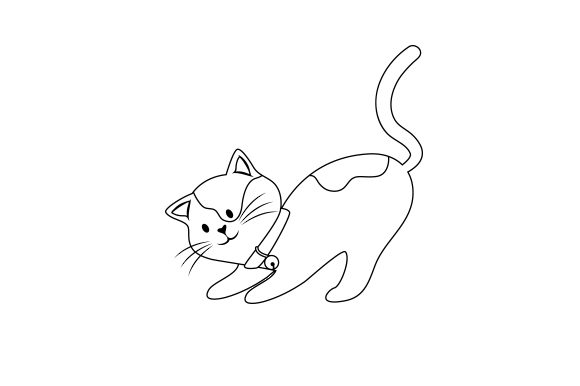 Download Free Cat Stretching Svg Cut File By Creative Fabrica Crafts for Cricut Explore, Silhouette and other cutting machines.