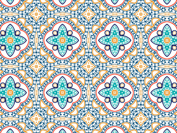 Download Free Abstract Pattern Colorful Design Graphic By Vectorceratops for Cricut Explore, Silhouette and other cutting machines.