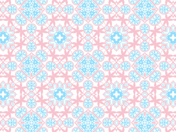 Download Free Abstract Pattern Pink Blue Color Design Graphic By SVG Cut Files