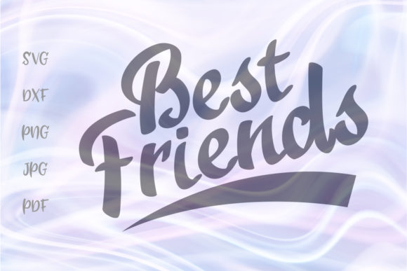 Download Free Best Friends Sign Bff For Cricut Graphic By Digitals By Hanna SVG Cut Files