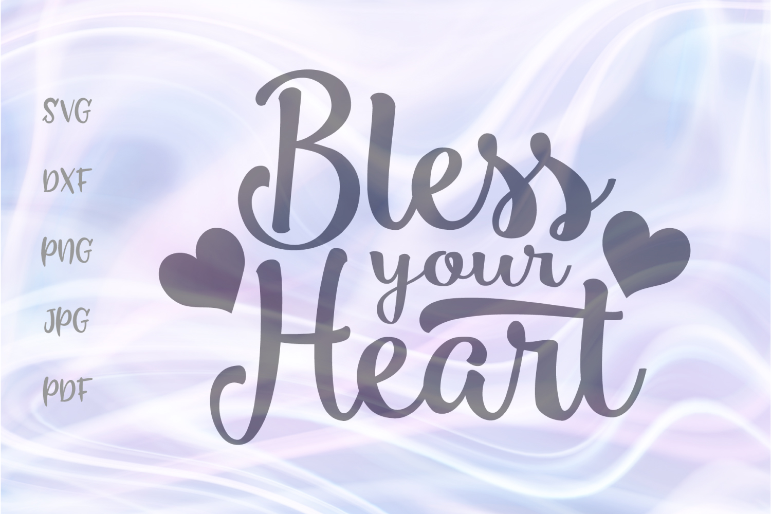 Download Free Bless Your Heart For Cricut Vector Graphic By Digitals By Hanna for Cricut Explore, Silhouette and other cutting machines.