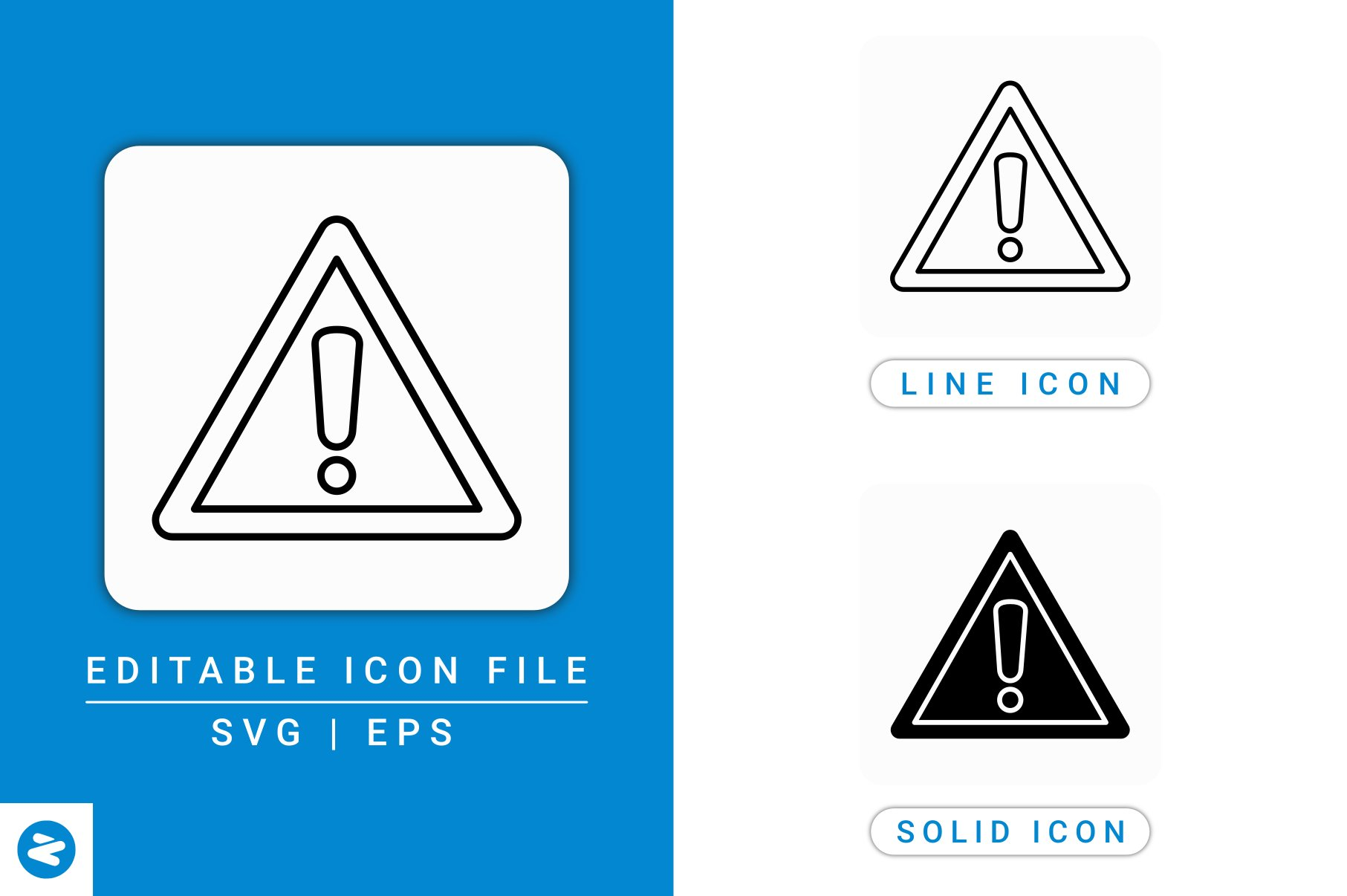 Download Free Caution Sign Icons Set Graphic By Zenorman03 Creative Fabrica for Cricut Explore, Silhouette and other cutting machines.