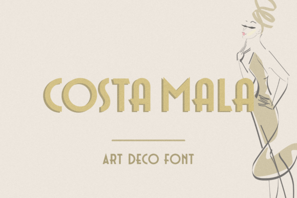 Download Free Costa Mala Font By Pasha Larin Creative Fabrica SVG Cut Files