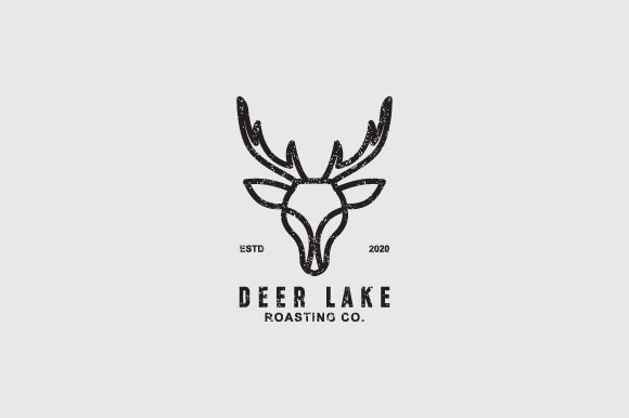 Download Free Deer Lake Logo Design Graphic By Burhan Bn006 Creative Fabrica for Cricut Explore, Silhouette and other cutting machines.