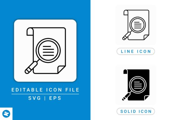Download Free Document Assessment Icons Set Graphic By Zenorman03 Creative for Cricut Explore, Silhouette and other cutting machines.