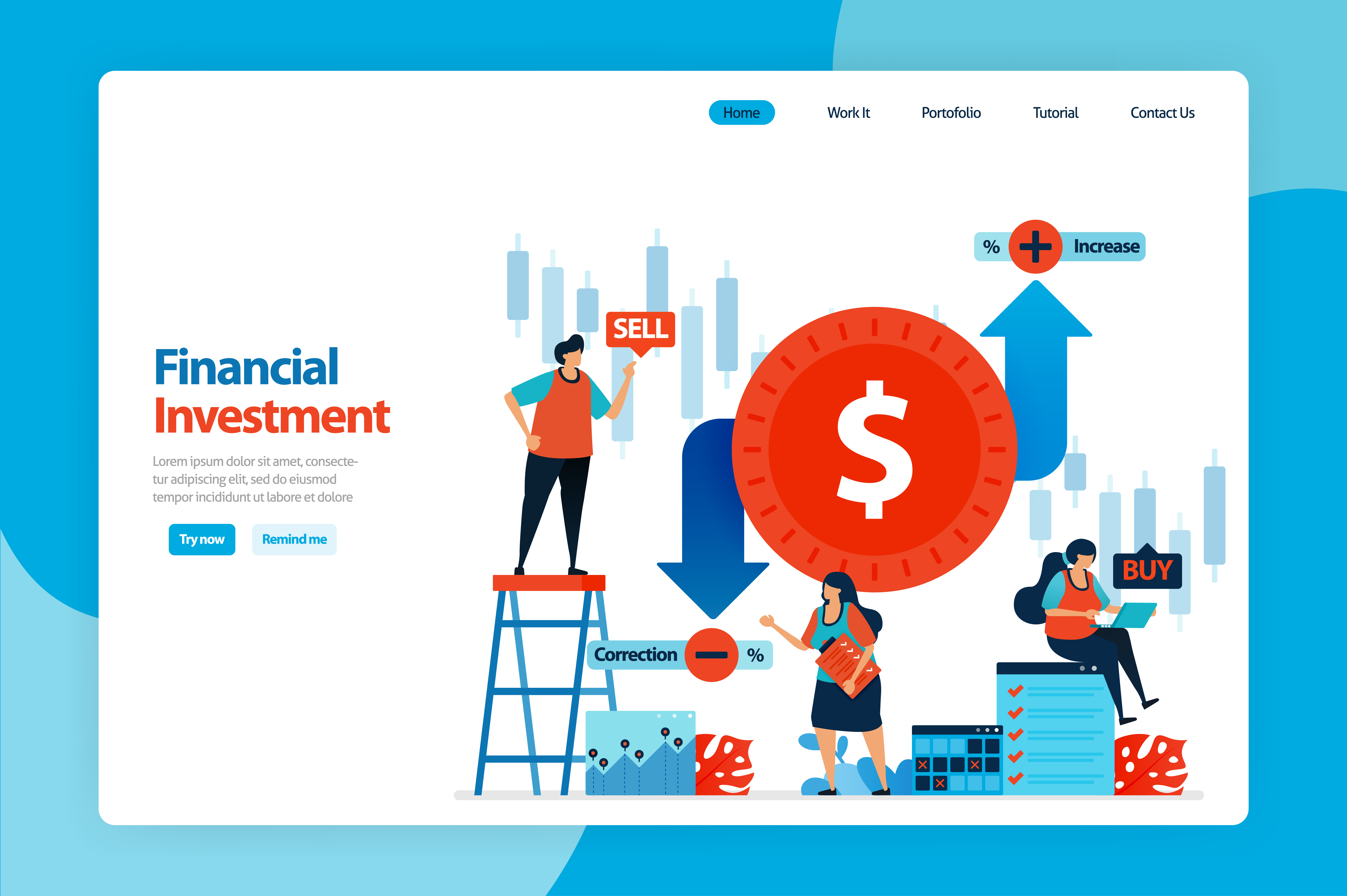 Download Free Financial Investment And Foreign Trading Graphic By for Cricut Explore, Silhouette and other cutting machines.