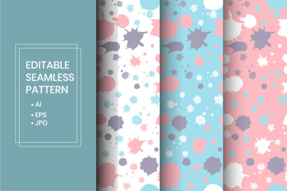 Download Free Hand Painted Pattern Graphic By Iorozuya Creative Fabrica for Cricut Explore, Silhouette and other cutting machines.