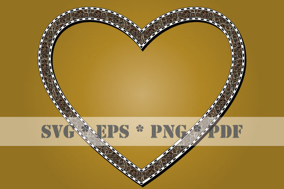 Download Free Heart Animal Skin Turtle Frame Vector Graphic By Graphicsfarm SVG Cut Files