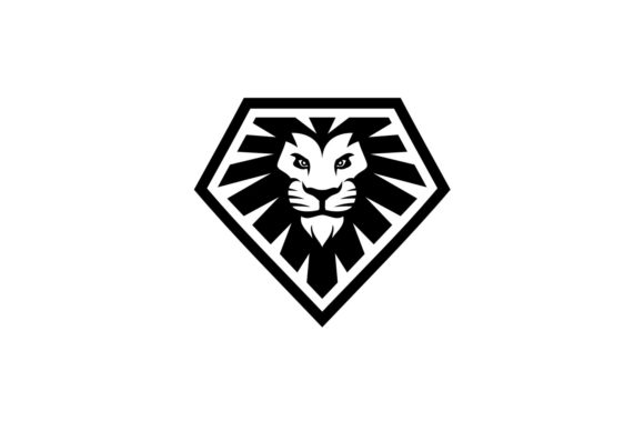 Download Free Lion Diamond Graphic By Herulogo Creative Fabrica for Cricut Explore, Silhouette and other cutting machines.
