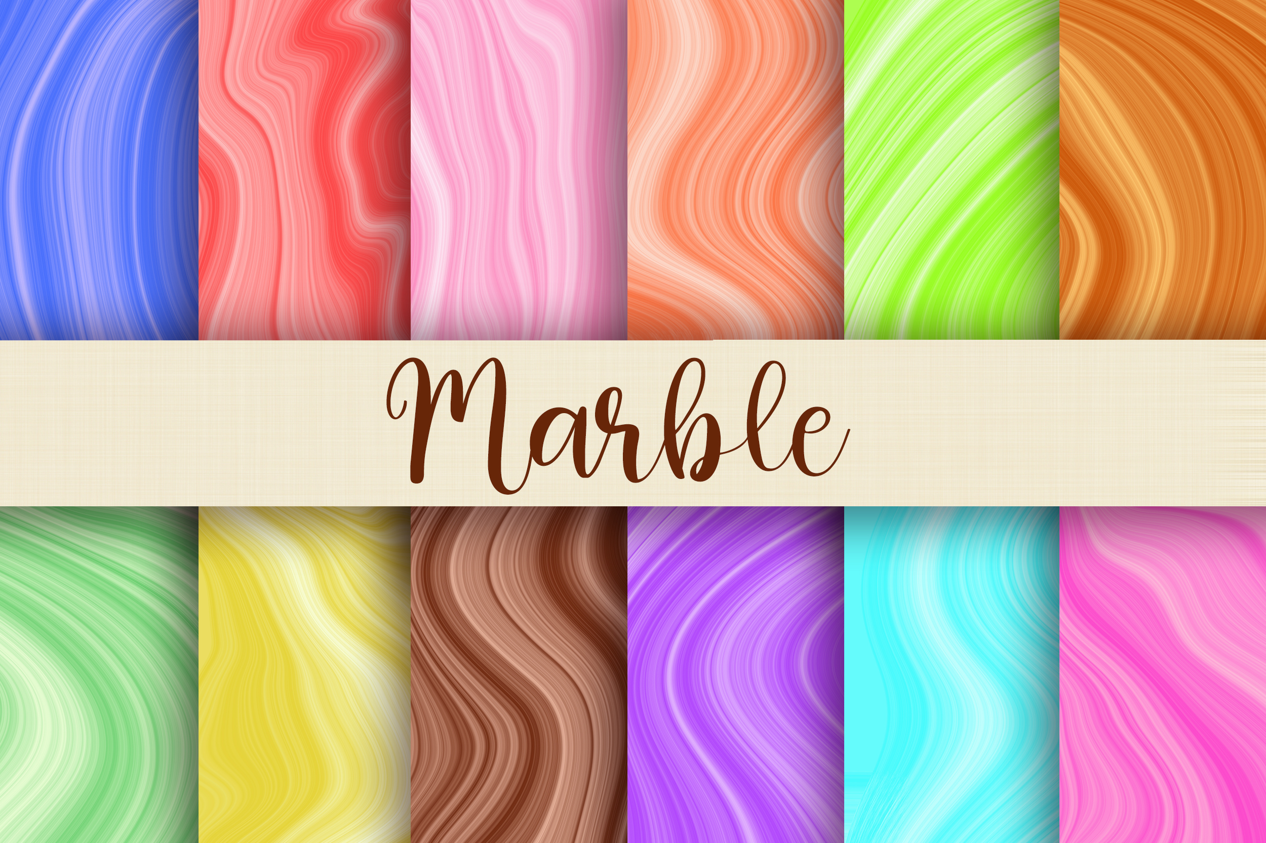 Marble Texture Background Digital Papers Graphic By Pinkpearly