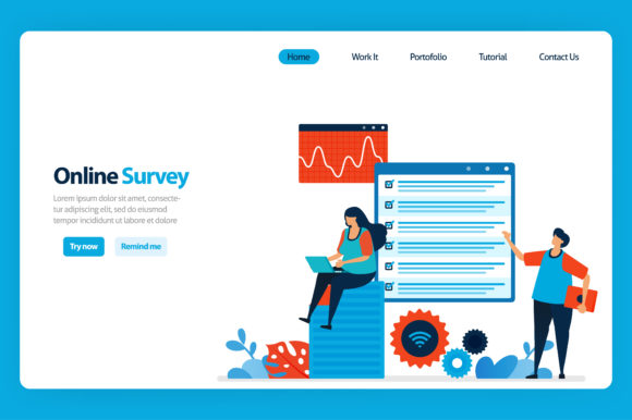 Download Free Online Filling Out Survey And Exam Graphic By Setiawanarief111 for Cricut Explore, Silhouette and other cutting machines.