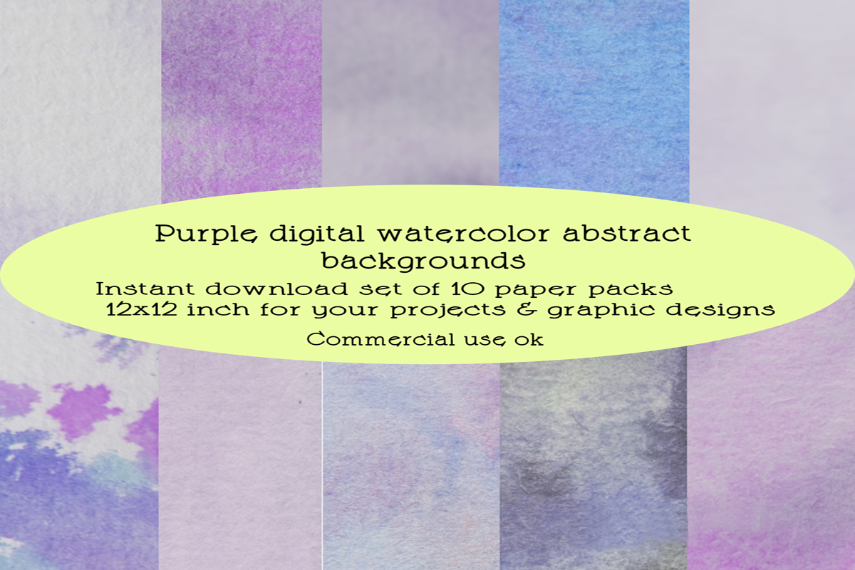 Download Free Purple Watercolor Backgrounds Graphic By A Design In Time for Cricut Explore, Silhouette and other cutting machines.
