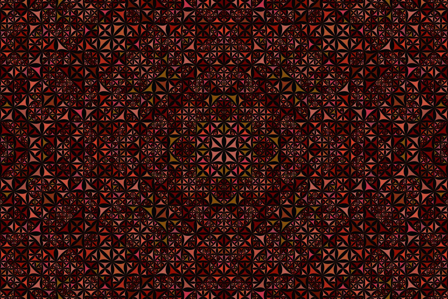 Download Free Seamless Kaleidoscope Pattern Grafik Von Davidzydd Creative for Cricut Explore, Silhouette and other cutting machines.