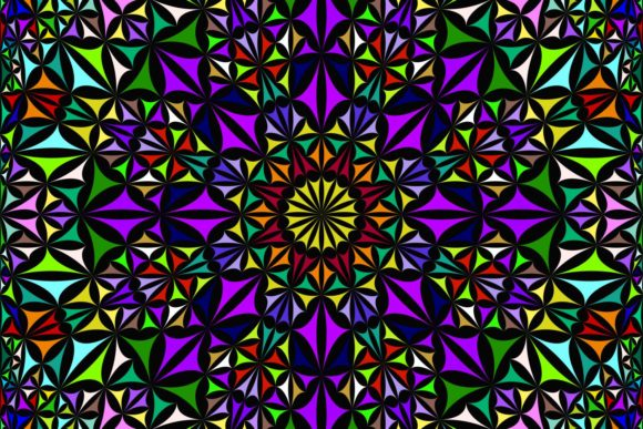 Download Free Seamless Mandala Pattern Graphic By Davidzydd Creative Fabrica for Cricut Explore, Silhouette and other cutting machines.