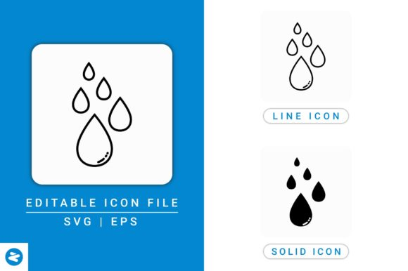 Download Free Tears Icons Set Graphic By Zenorman03 Creative Fabrica for Cricut Explore, Silhouette and other cutting machines.
