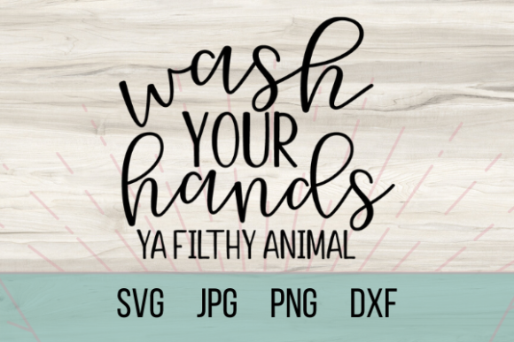 Print on Demand: Wash Your Hands Graphic Crafts By Talia Smith